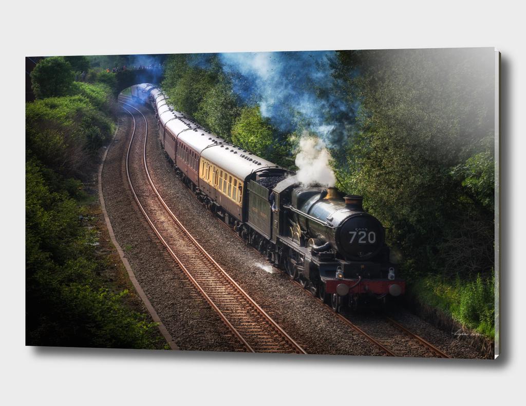 Nunney Castle locomotive