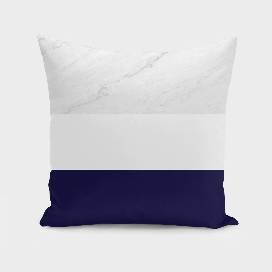 marble royal blue stripes