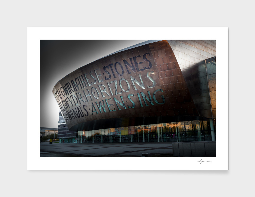 Wales Millennium Centre AKA Cardiff Bay golden armadillo