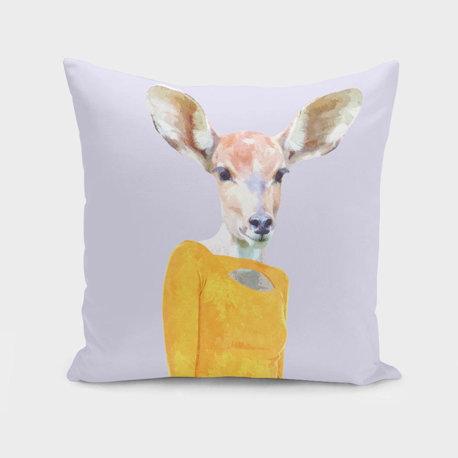 Fashionable Antelope Illustration