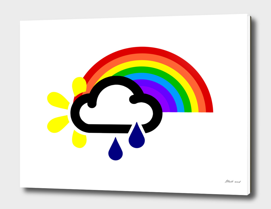 A chance of rainbows