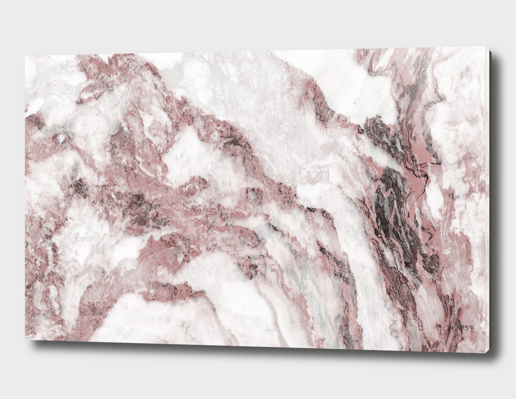 White and Pink Marble 12