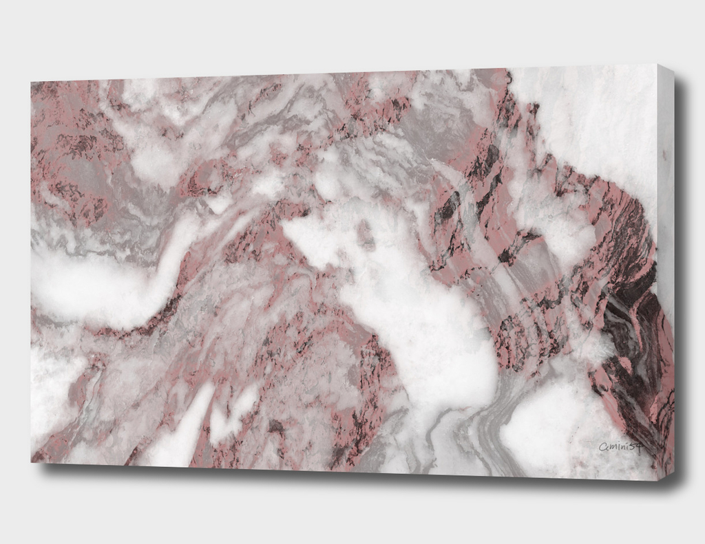 White and Pink Marble 13