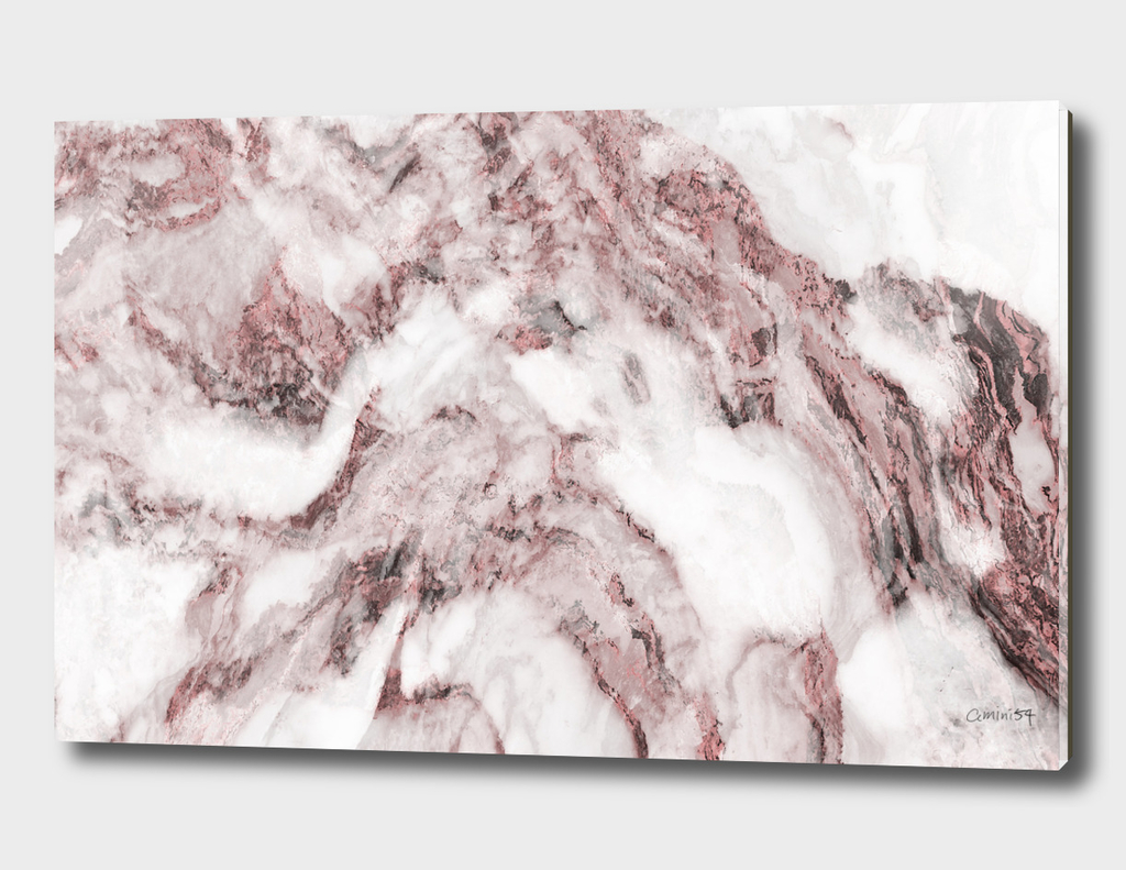 White and Pink Marble 14