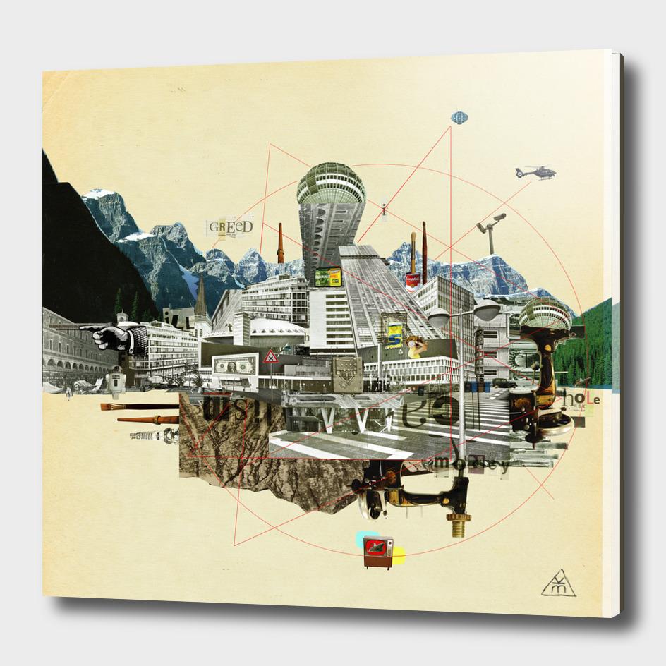 Collage City Mix 7