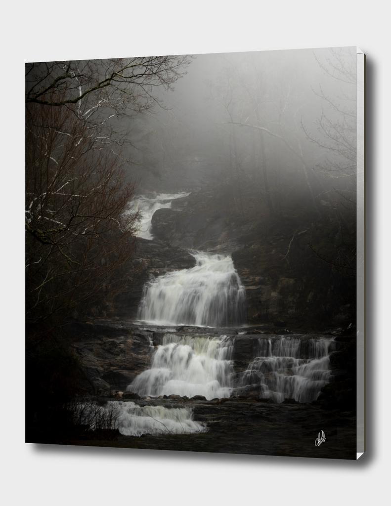 Foggy Falls