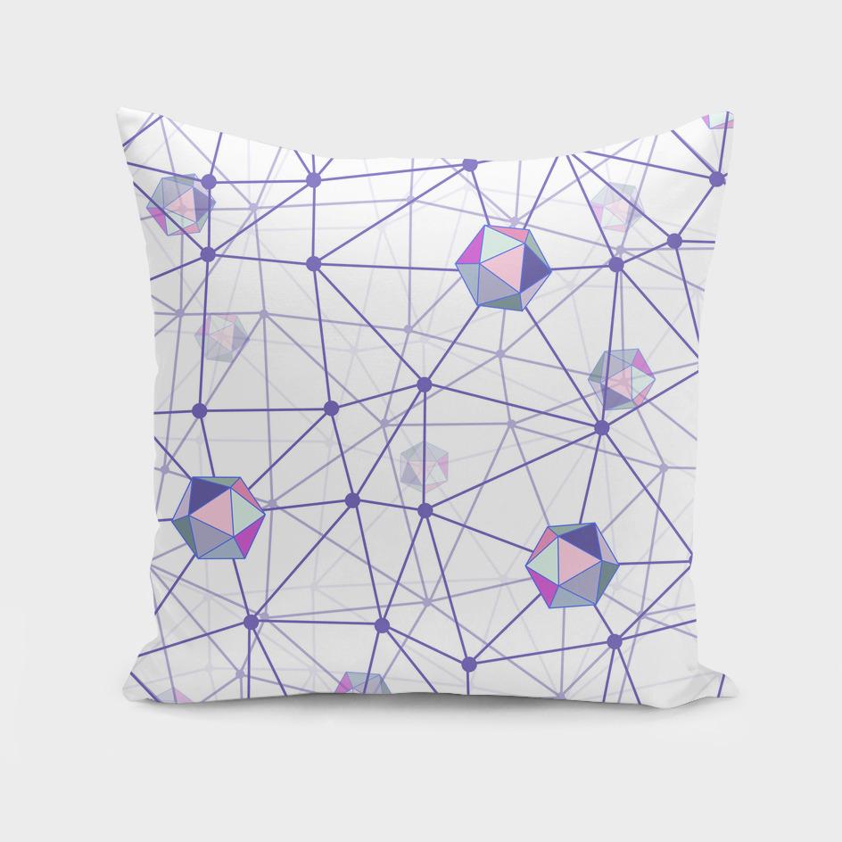 Pastel Geometric Shape Constellation Dream