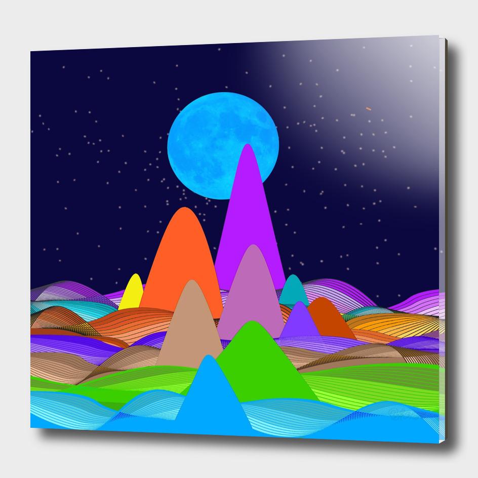 Fanciful Hills -3