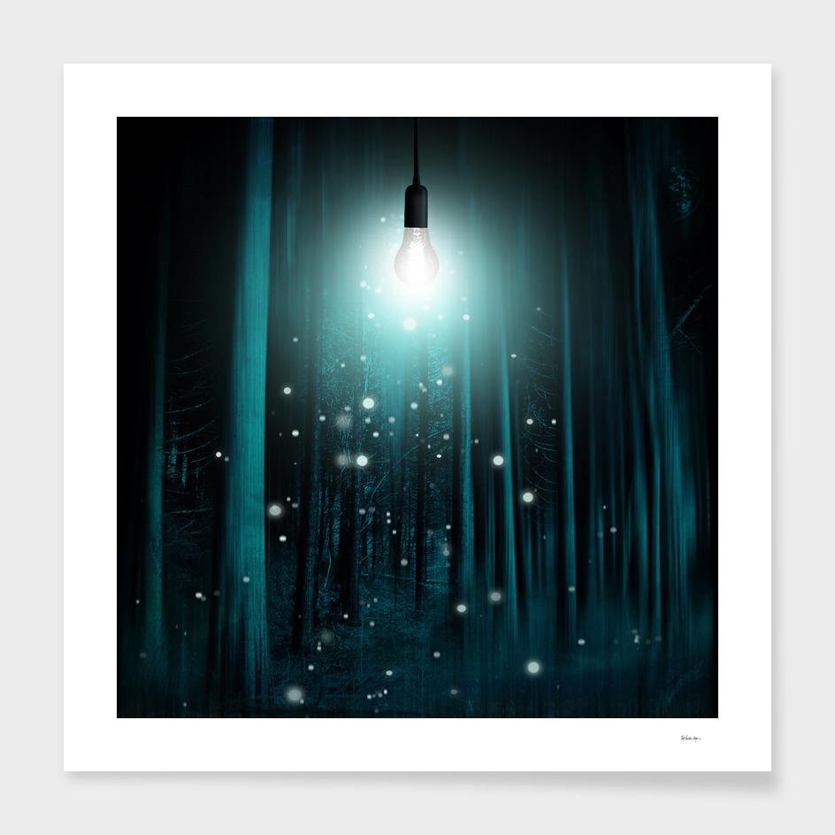 floating lights room