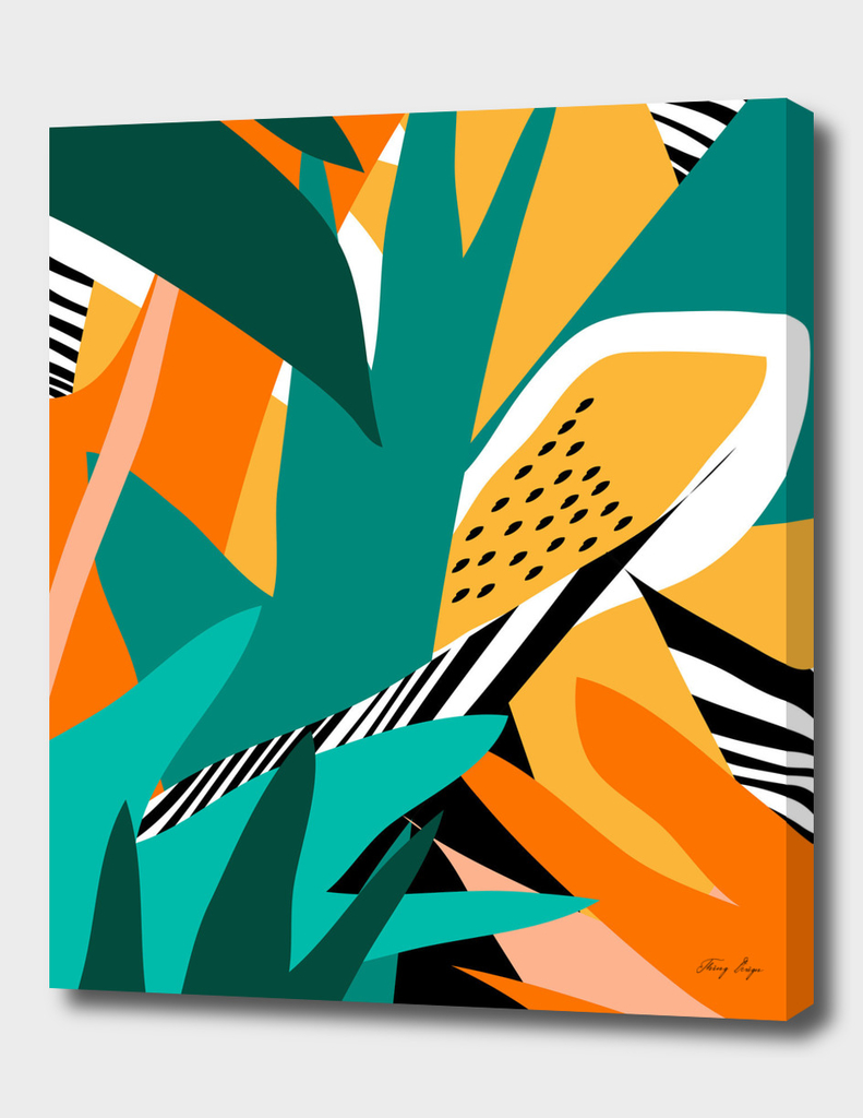 Jungle Abstract