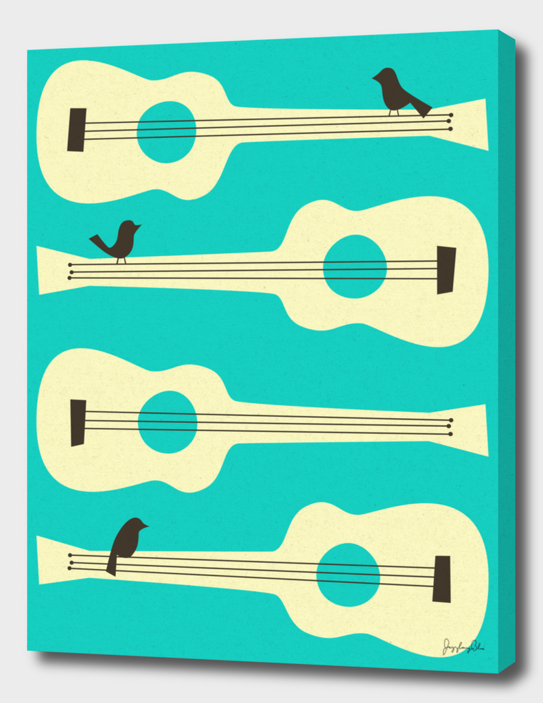Birds On Guitar Strings