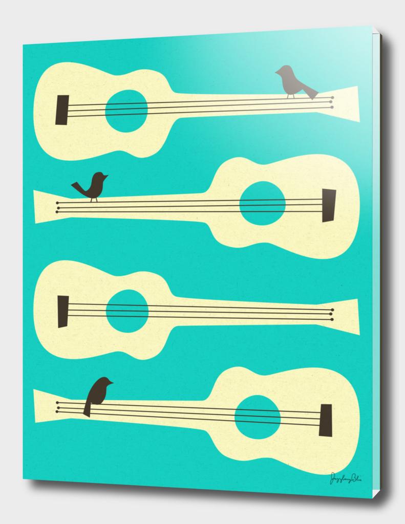 Birds On Guitar Strings