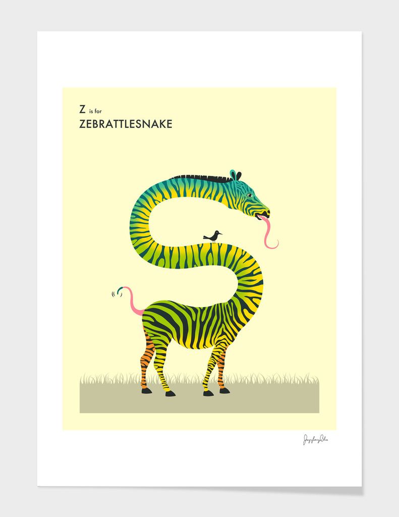 Z is for Zebrattlesnake