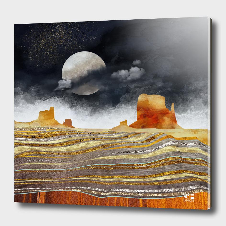 Metallic Desert