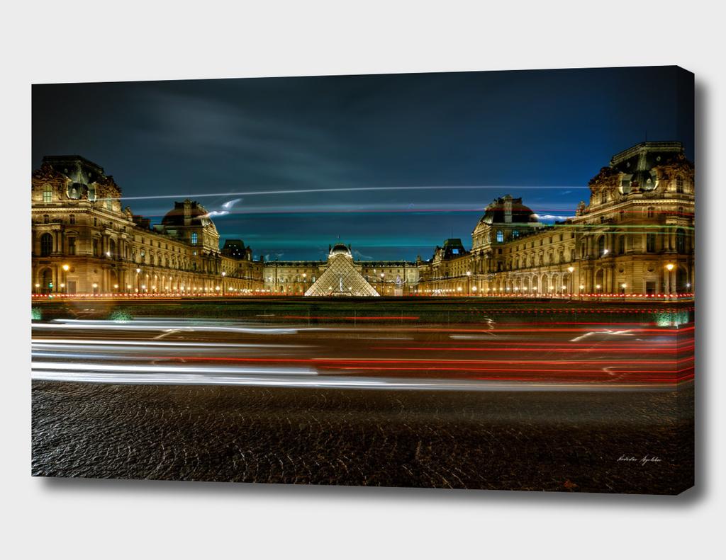 Louvre Pyramid and Pavillon Richelieu