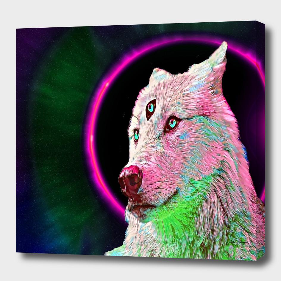 Three eyed wolfy