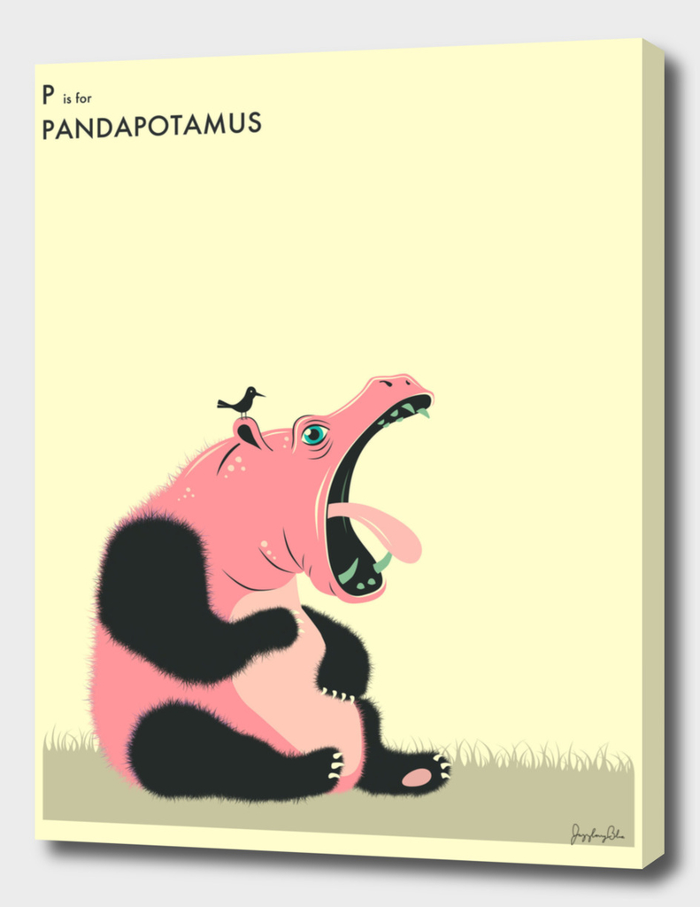 P is for Pandapotamus