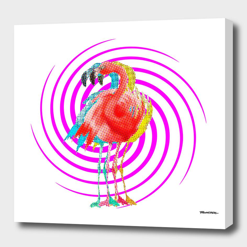 PoP-Flamingo with Pink