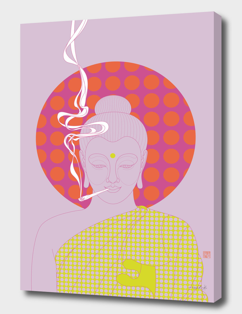 Buddha : Give Peace a Chance! (PopArtVersion)