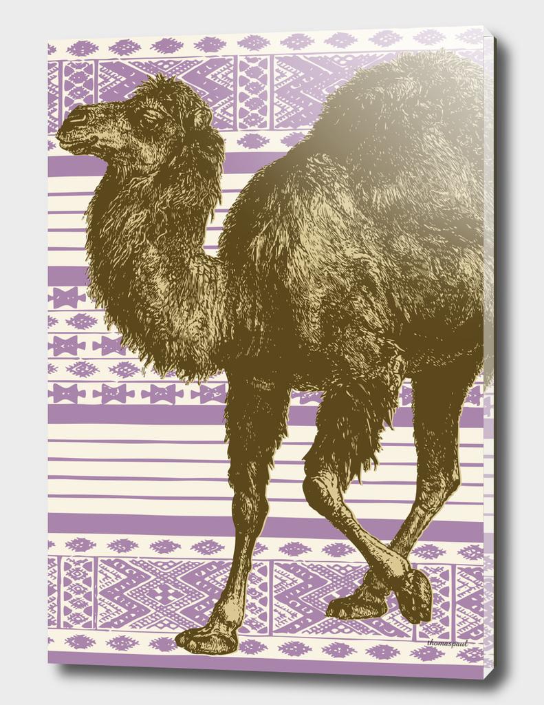 Bazaar Camel Lavender