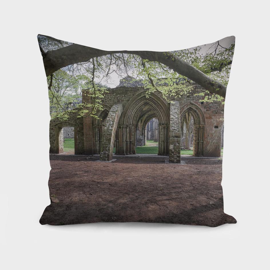 Margam Park ruined abbey