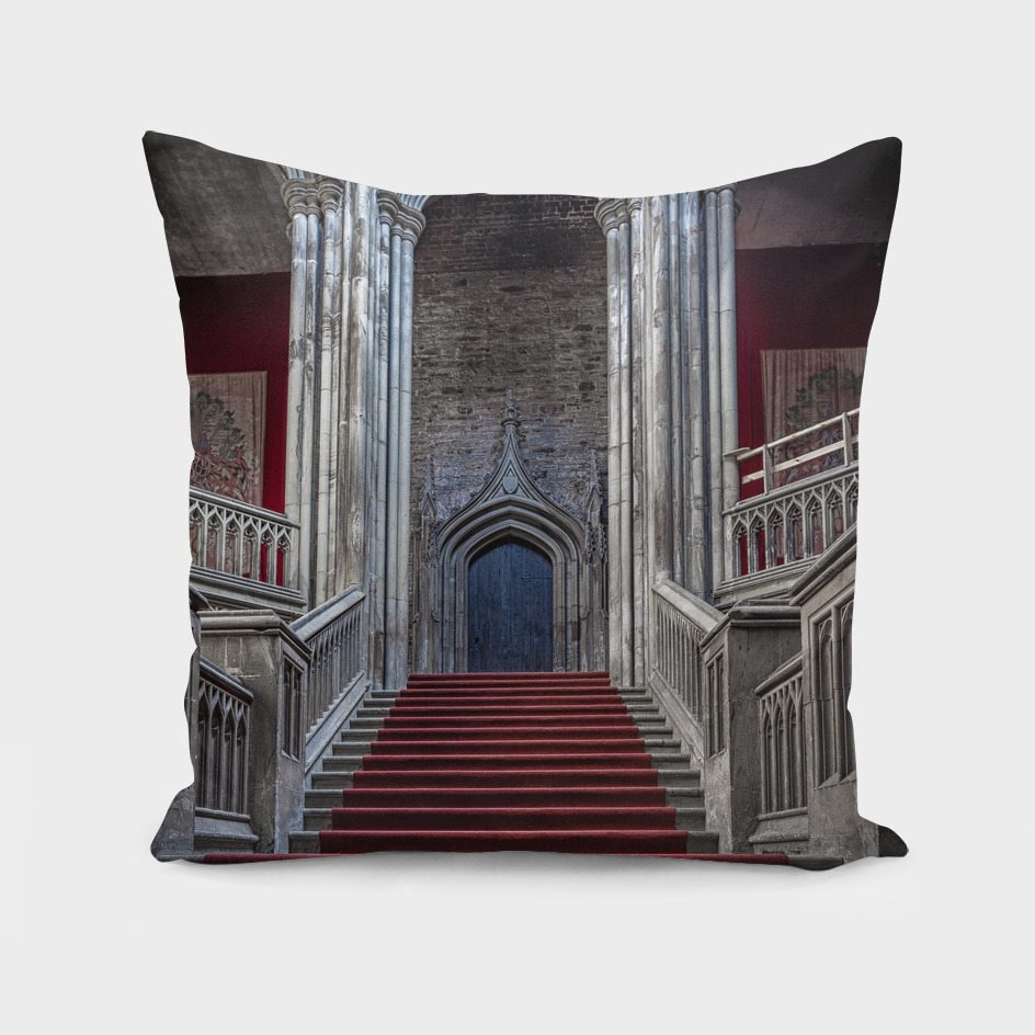 Margam Castle staircase