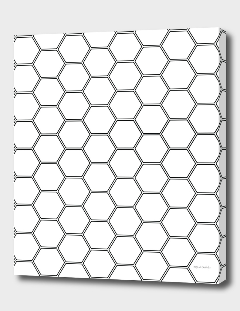 Honeycomb - Black #378