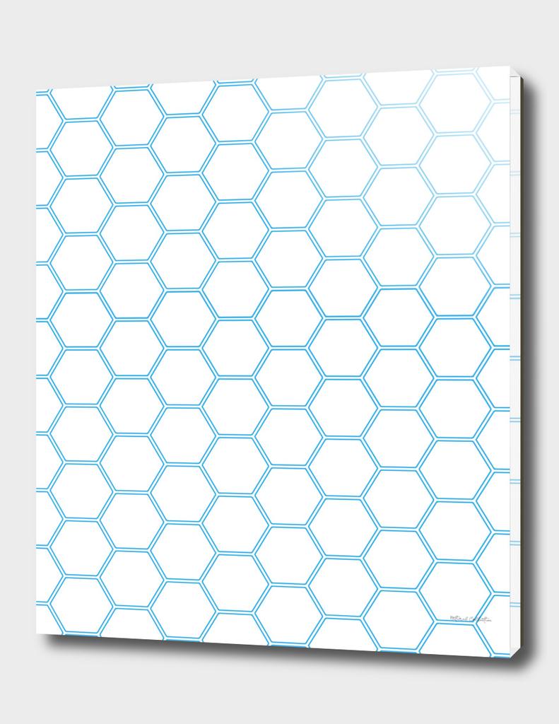 Honeycomb Blue #370