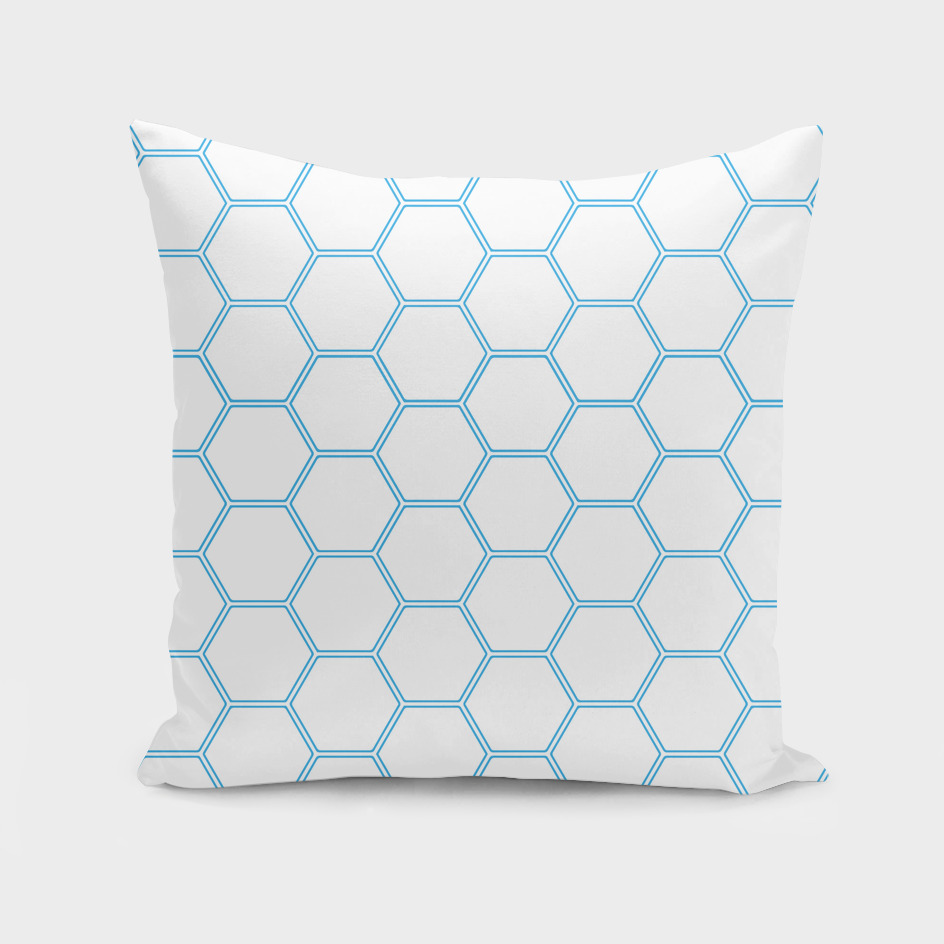 Honeycomb - Blue #370