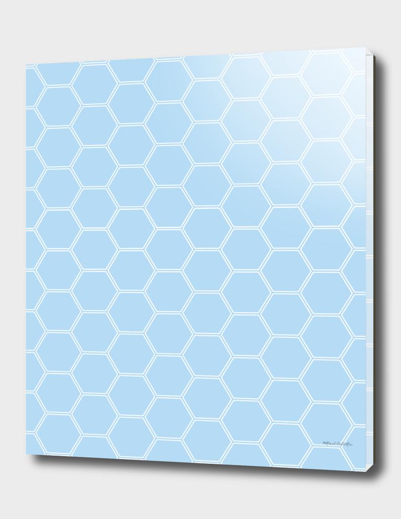 Honeycomb - Light Blue #304