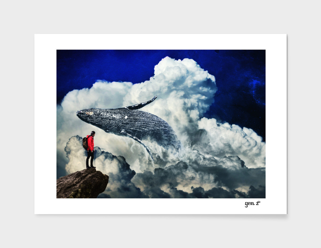 Whale in the Clouds by GEN Z