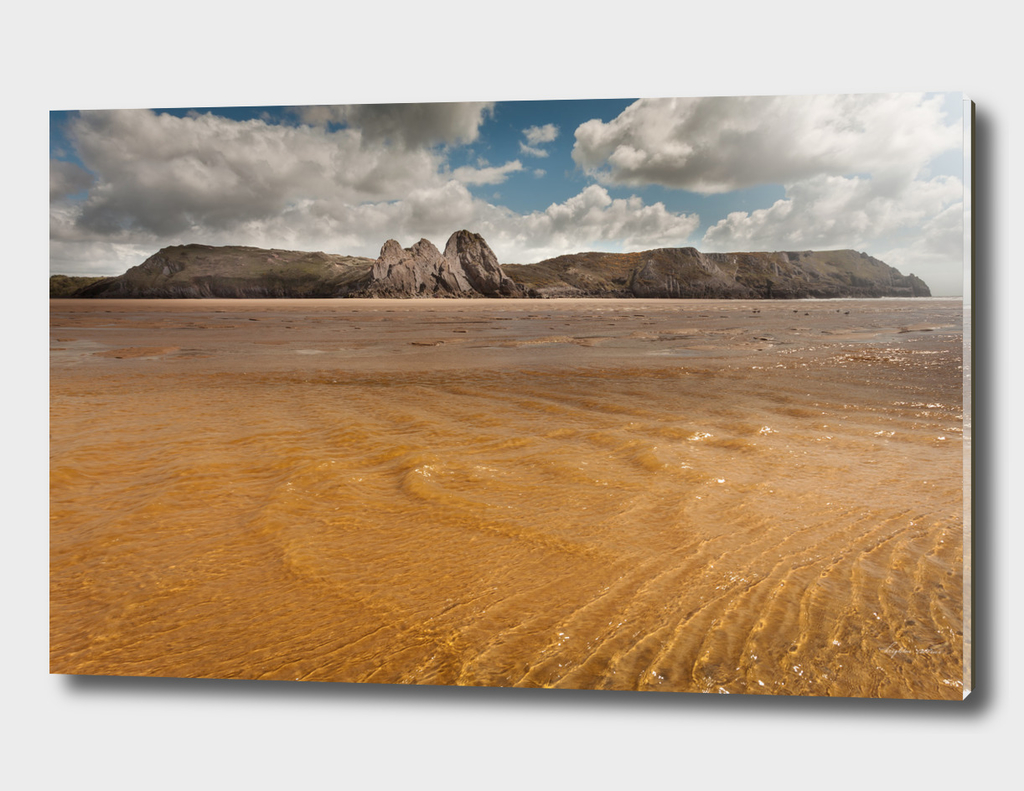 Three Cliffs Bay Swansea