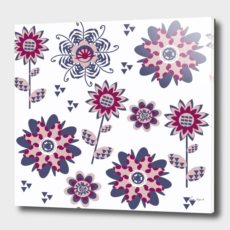 Floral  pattern 55