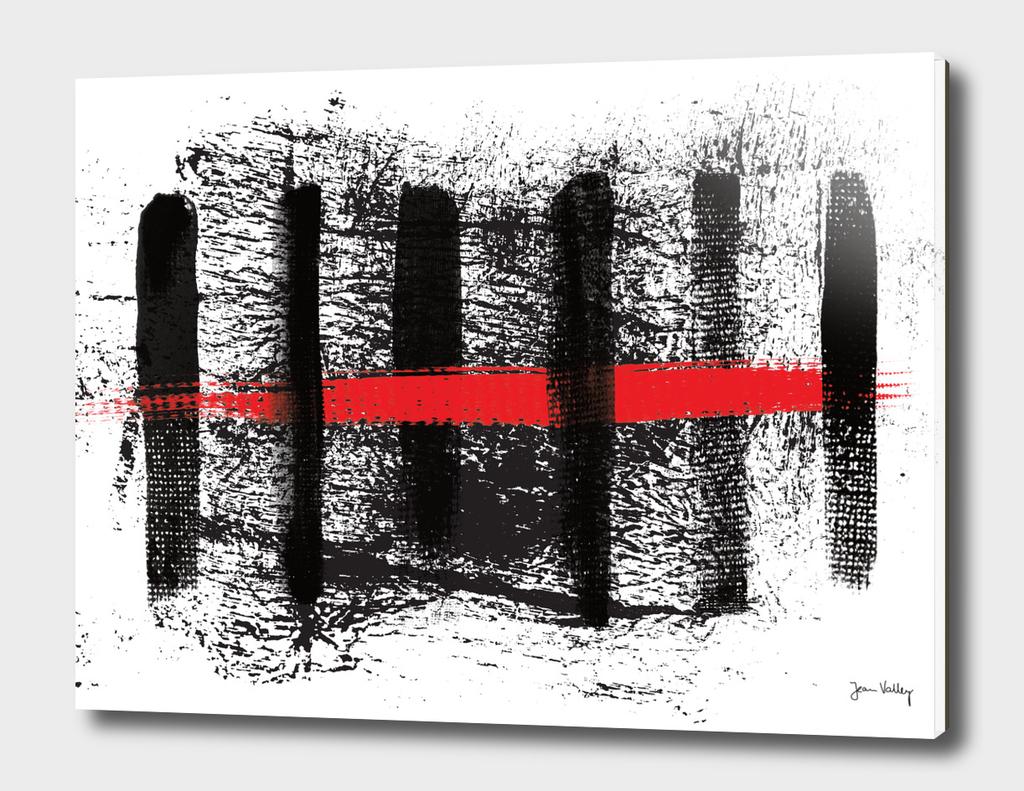 BLACK | RED