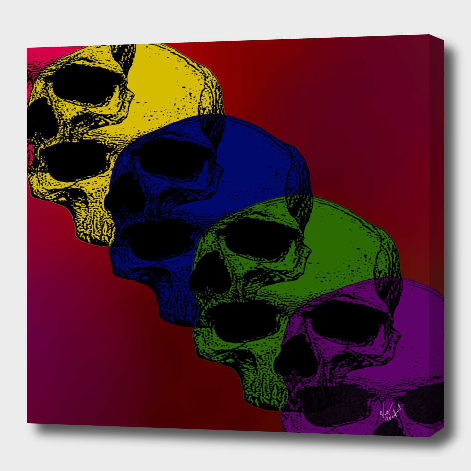 Pop art death