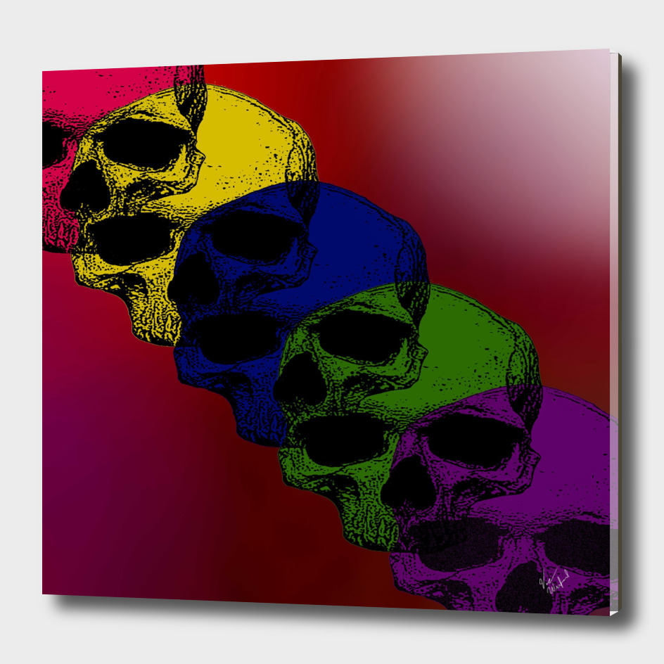 Pop art death