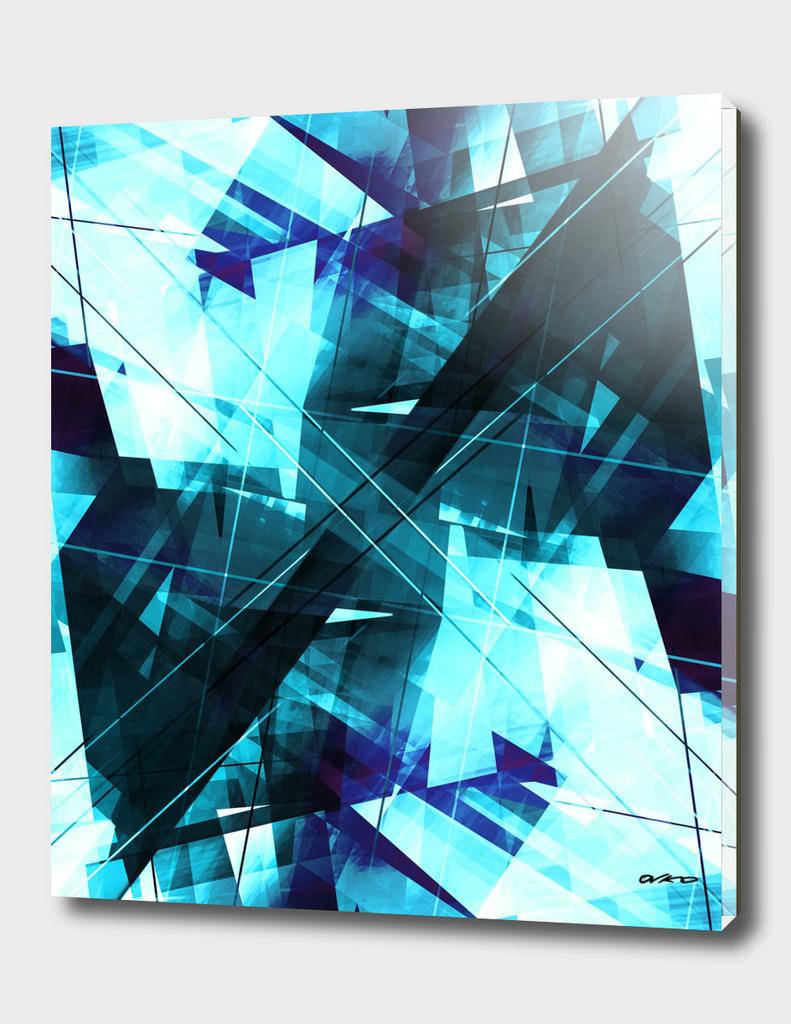 Iceless - Geometric Abstract Art