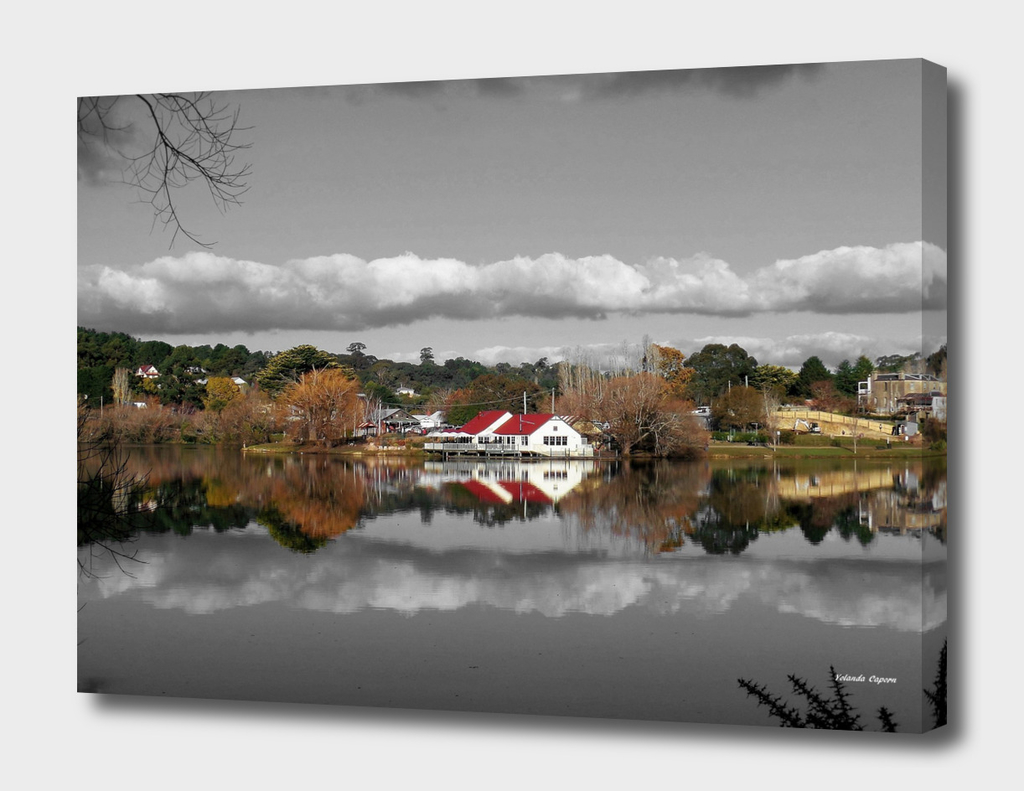 Lake Daylesford Winter Reflections