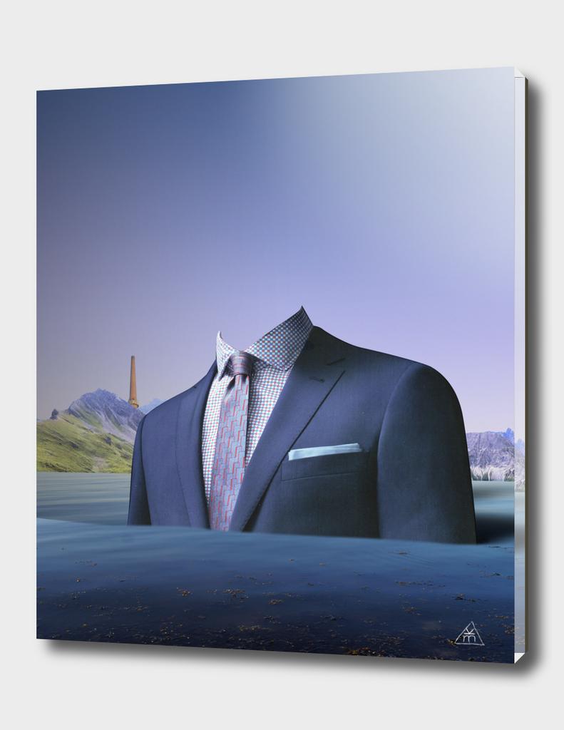 atmosphere 61 · Der Mann auf der Fahrt ins blaue