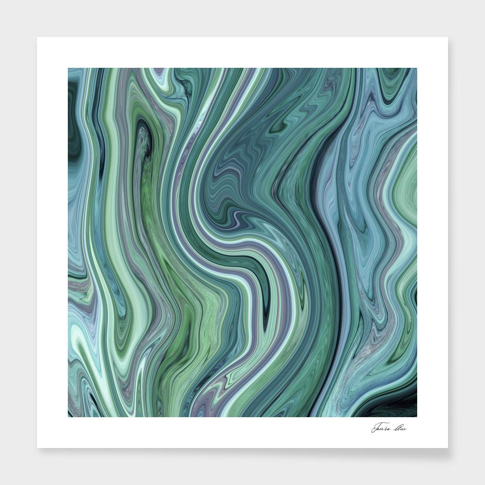 Green marble I