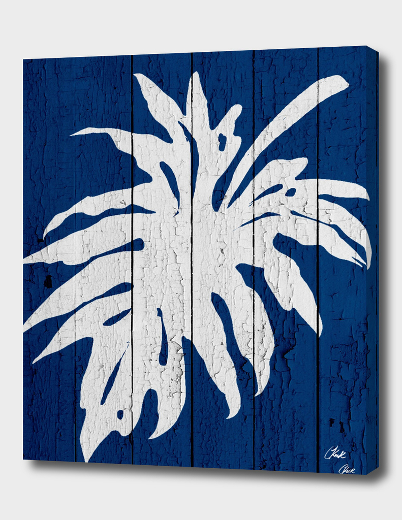 Blue Nature Dark Blue Palm5