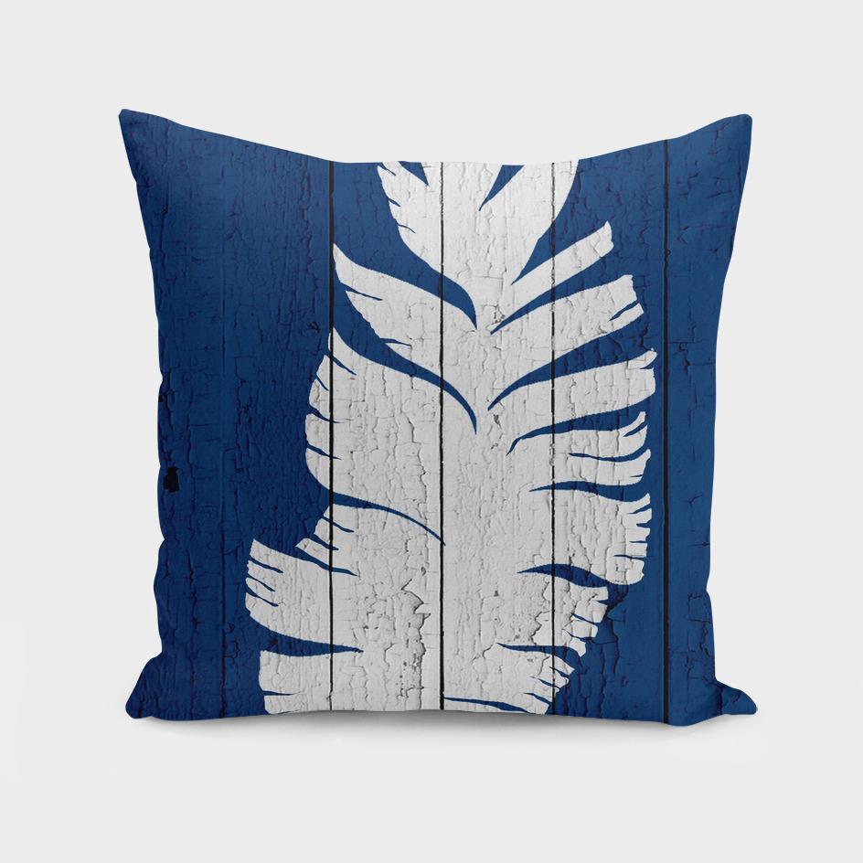 Blue Nature Dark Blue Palm8