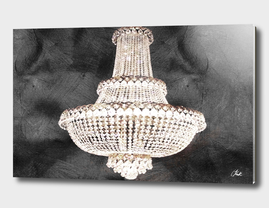 Chic Black Chandelier