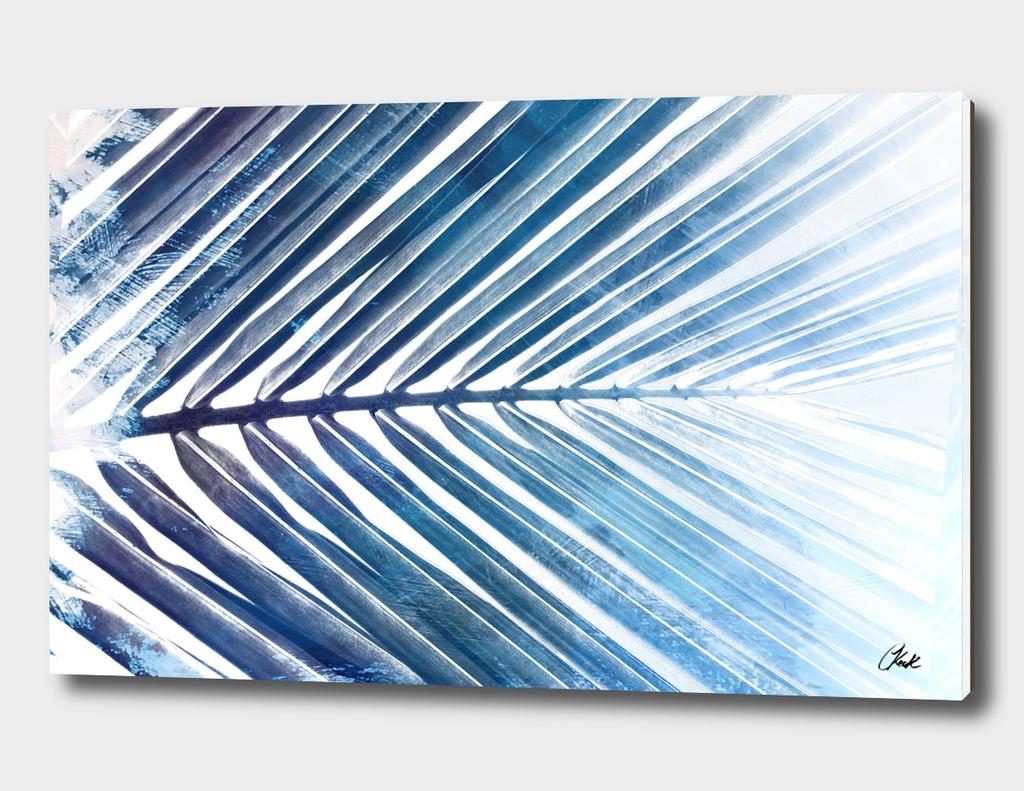 Blue Palm Leaf