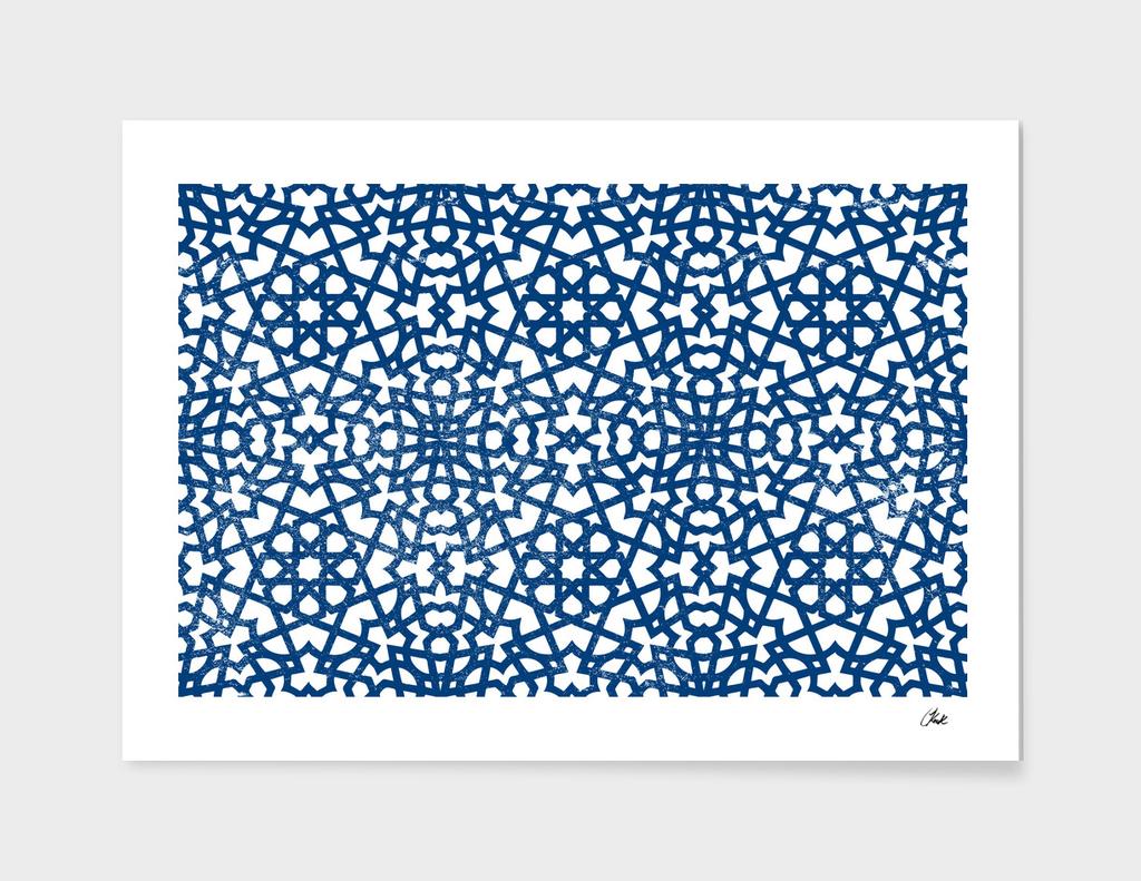 Moroccan LaceBlue