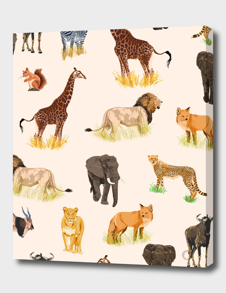 safari-sightings-art-print