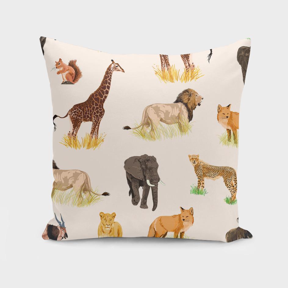 safari-sightings-art-print