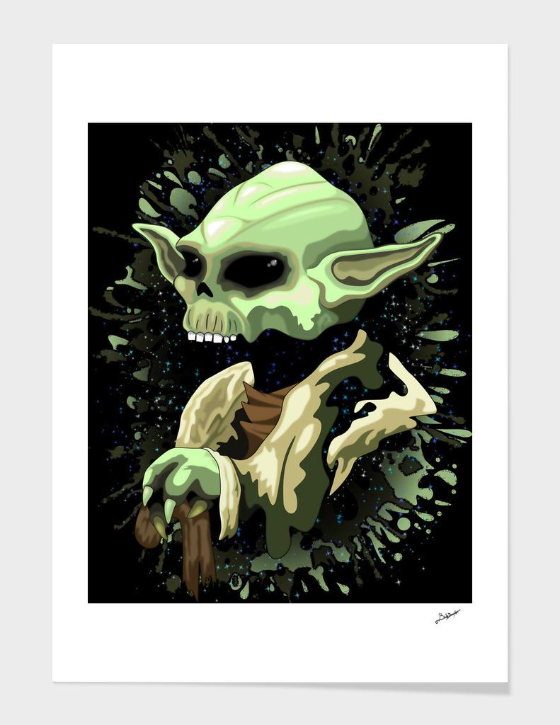 Skull Yoda Jedi Master