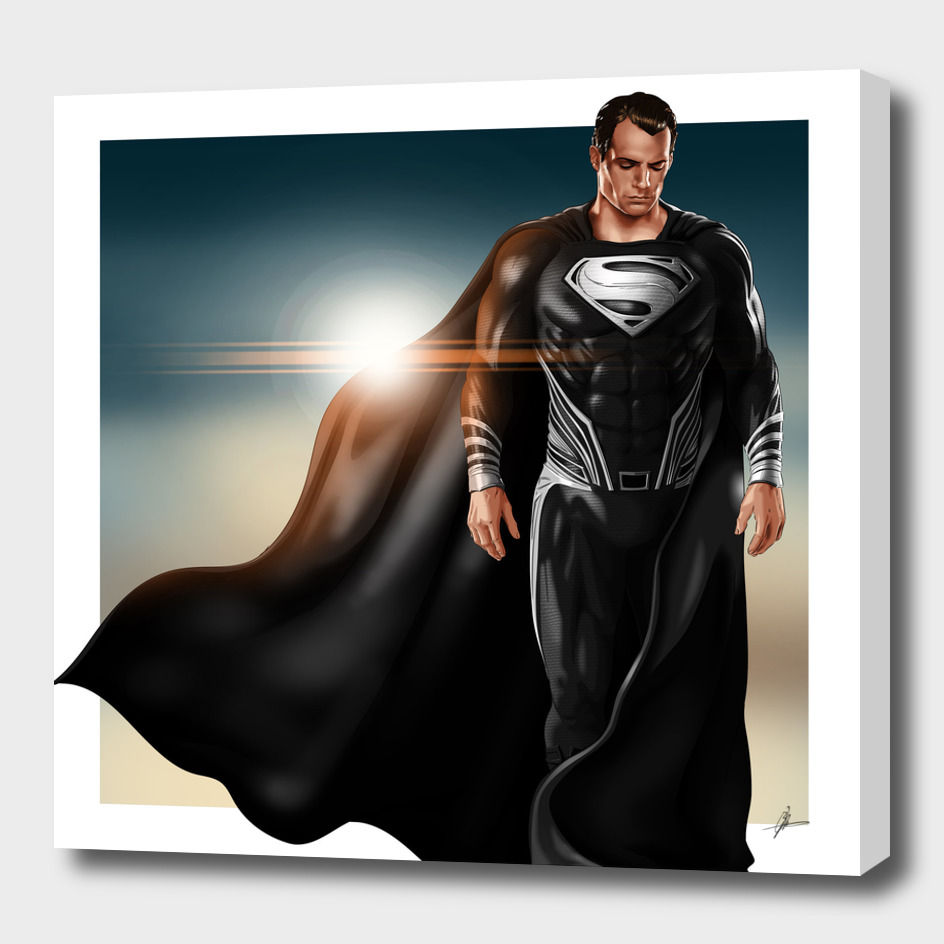 Justice League: Superman (Black Suit)