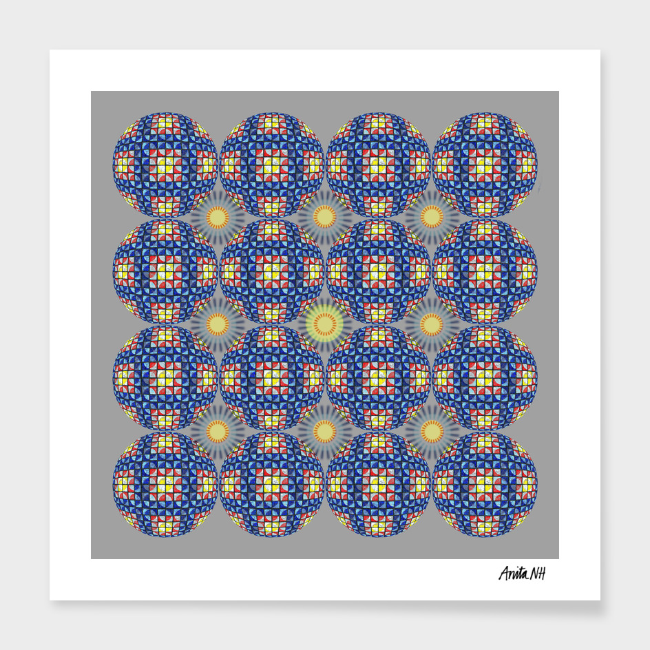 Quarter Dots Manipulation No. 7